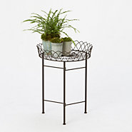 Wrought Iron Tray Table