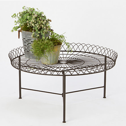 Wrought Iron Coffee Table In Outdoor Living Outdoor Tables At Terrain