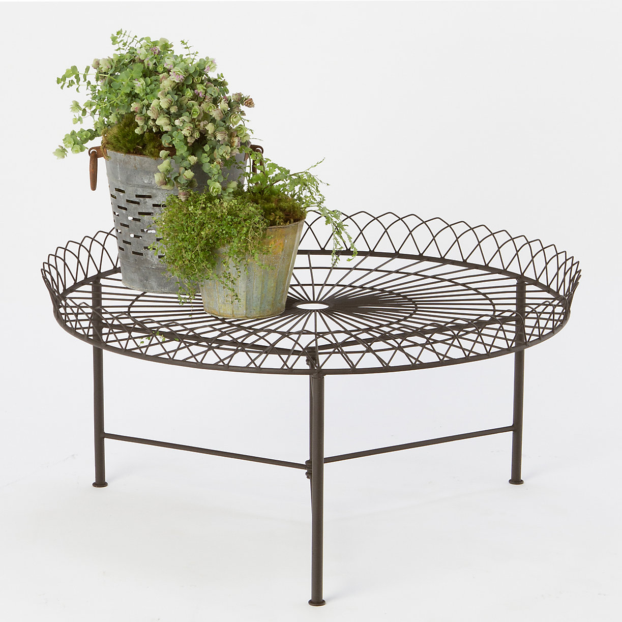 wrought iron coffee table | terrain