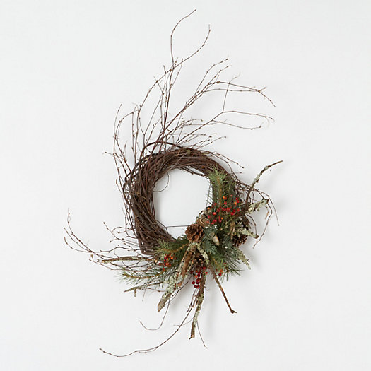 Birch Forest Wreath