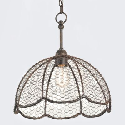 Beehive Basket Lamp