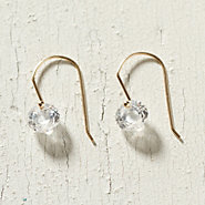 Crystal Sphere Drop Earrings