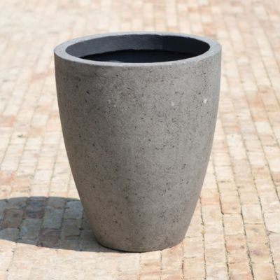 Oval Fiberstone Planter, Large