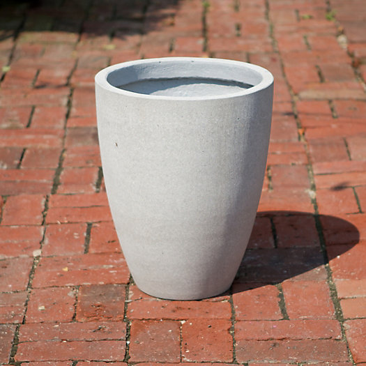 Oval Fiberstone Planter, Small