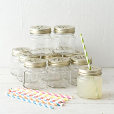 Garden Party Drink Jars