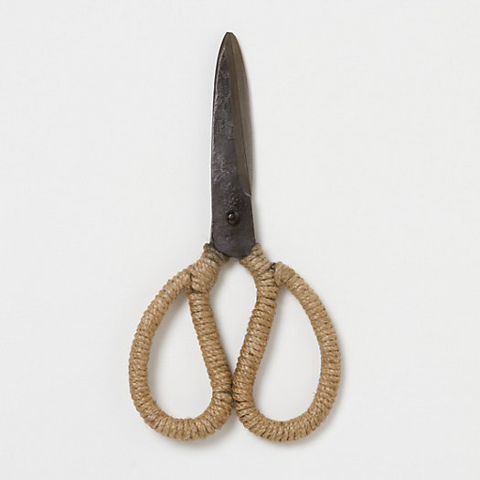 Jute Wrapped Garden Scissors