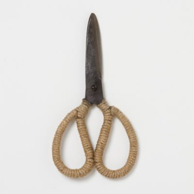 Jute Wrapped Garden Scissors Terrain