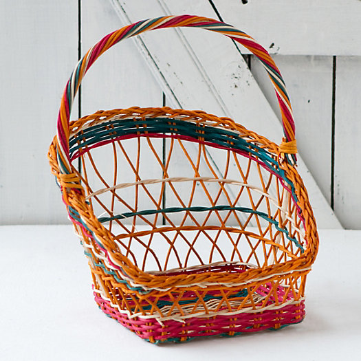 Egg Hunt Basket, Square