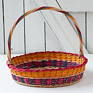 Egg Hunt Basket, Round