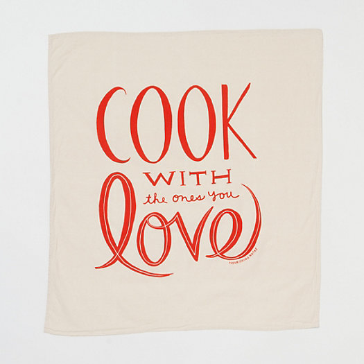Cook with Love Tea Towel