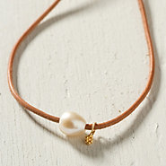 Sea & Sand Necklace, White