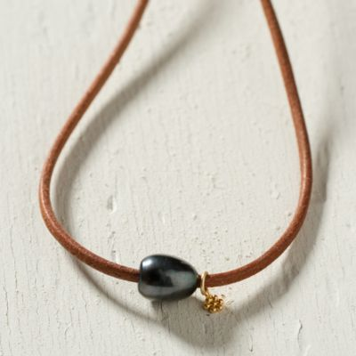 Sea & Sand Necklace, Black