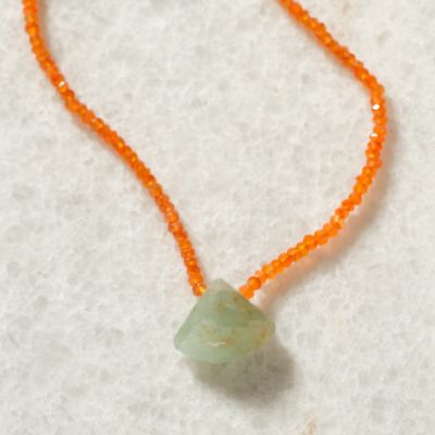 Tropics Necklace, Aqua