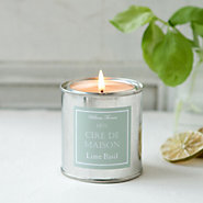 Painter's Candle, Lime & Basil