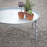 Zinc Windsor Leg Table