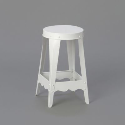 Scalloped Stacking Stool