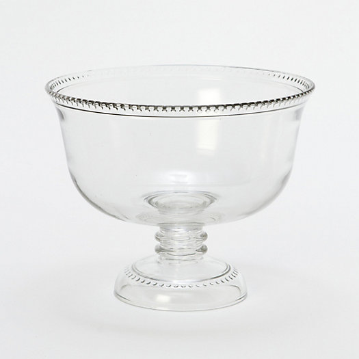 Dotted Rim Serving Bowl
