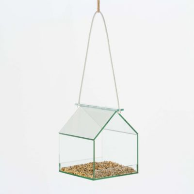 Glass House Birdfeeder