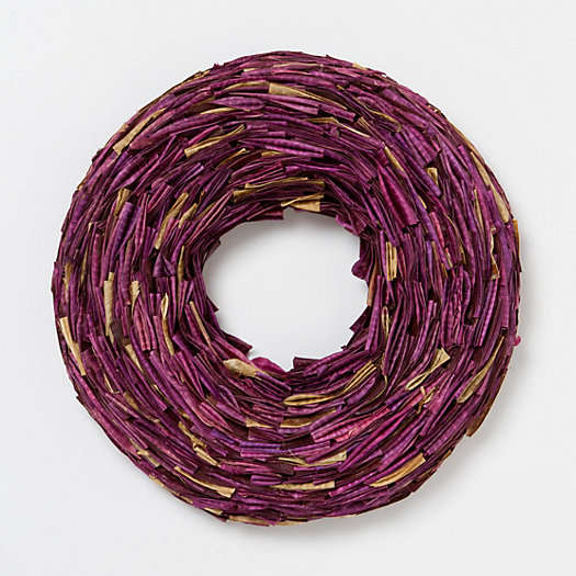 Bean Pod Wreath