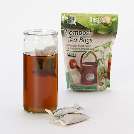 Tea bag fertilizer