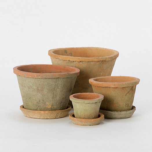 Linen Wrapped Pots