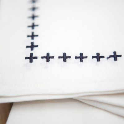 Cross Stitch Cocktail Napkin Set