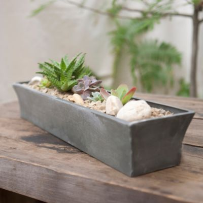 Zinc Windowsill Trough