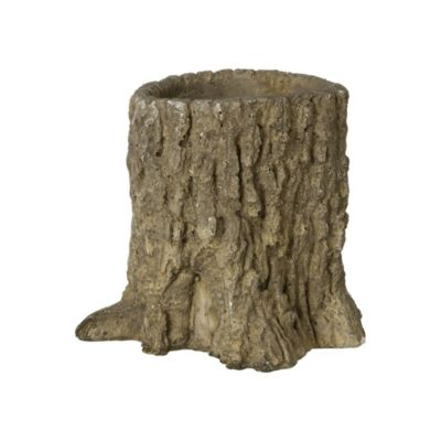 Tree Trunk Pot