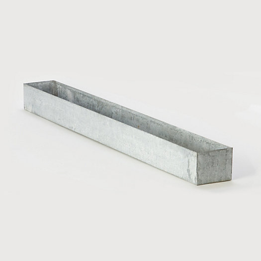 Galvanized Trough Planter