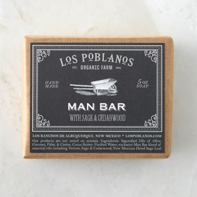 Los Poblanos Man Soap