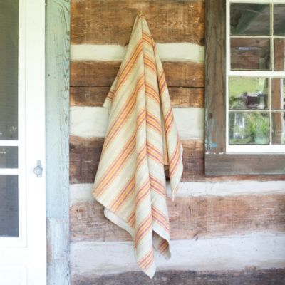 Welsh Stripe Heirloom Throw