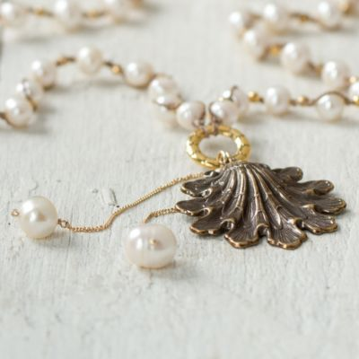 Bronze Frond Necklace