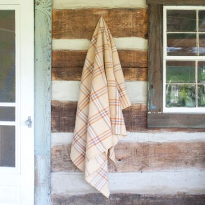 Welsh Check Heirloom Throw, One-of-a-Kind