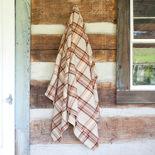 Welsh Tartan Heirloom Throw, One-of-a-Kind