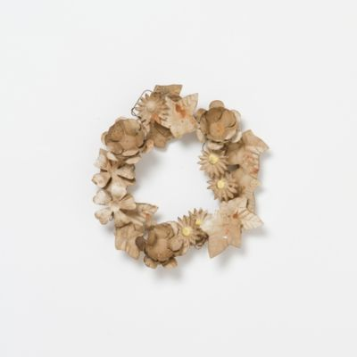 Gold Garden Wreath, Matte