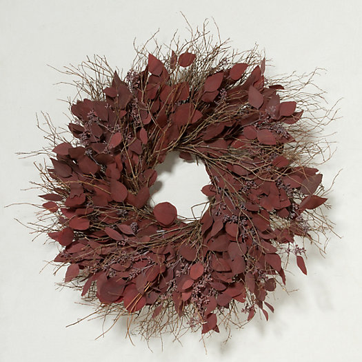 Red Eucalyptus Wreath