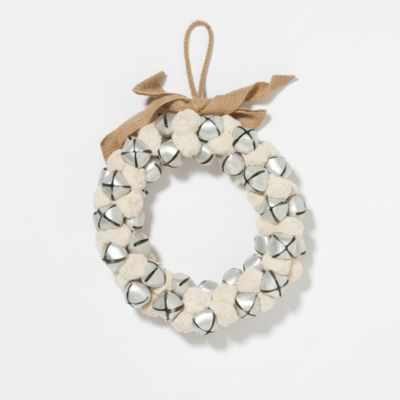 Jingle Bells & Snowballs Wreath