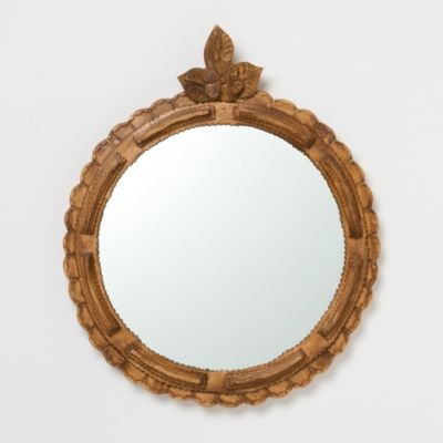 Flower Finial Mirror