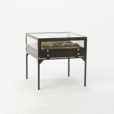 Curio End Table
