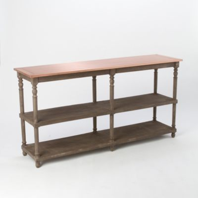 Copper Top Console