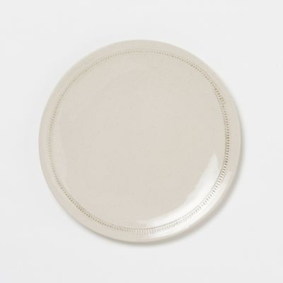 Hatched Edge Dinner Plate
