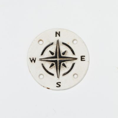 Cast Iron Compass Sign