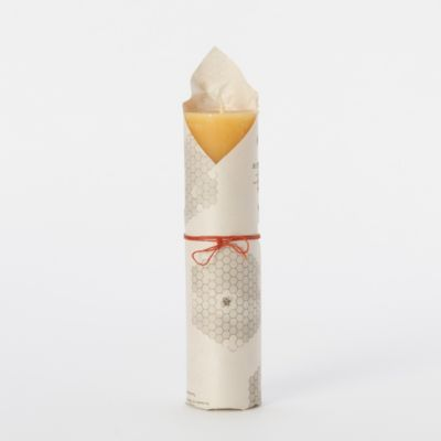 Pure Beeswax Narrow Pillar Candle, Large