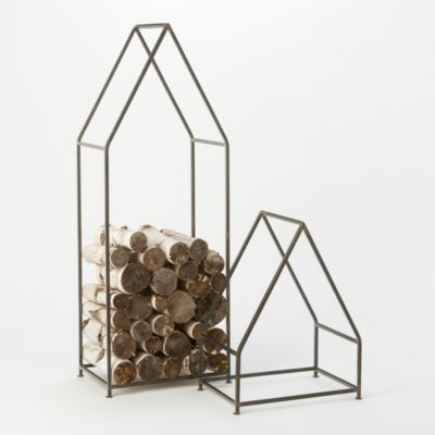 Iron Cabin Log Holder