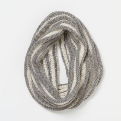 Striped Wool Cowl
