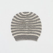 Alpaca Stripe Hat