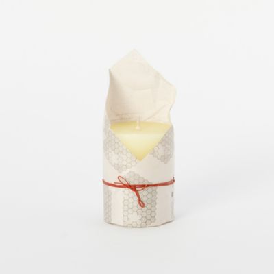 Pure Beeswax Pillar Candle, Small