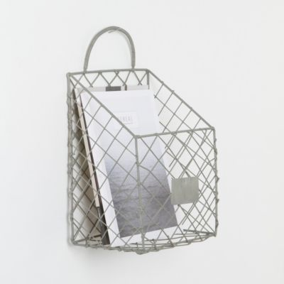 Wire Magazine Basket