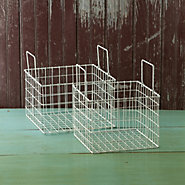 Wire Basket Pair