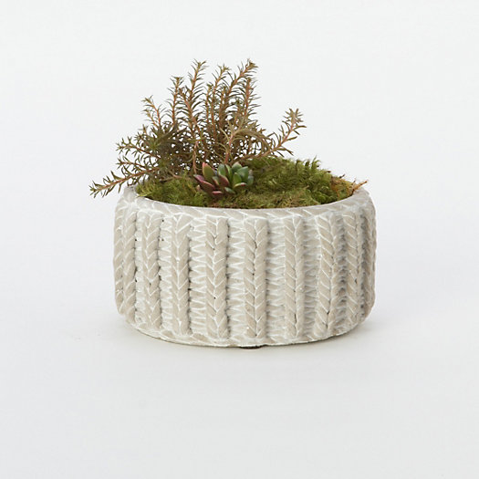 Sweater Weather Pot, Low